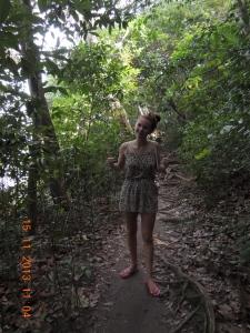 Trekking in Flip-Flops
